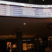 Terminal 21 - Aktuelle Abflugszeiten