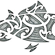 Maori inspired Fish by Burns Seiken
