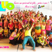 Zumba Party Six-Fours Couleurs Fluo