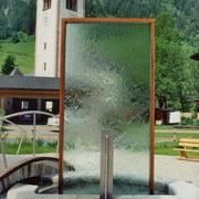 Der Brunnen von Fusch - Wasserschleier
