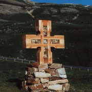 Friedenskreuz am Obernaßfeld -Großglockner-Hochalpenstraße