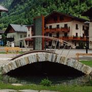 Der Brunnen von Fusch - trockene Steinschlichtung