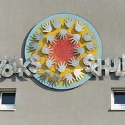 Kunst am Bau - Volksschule Weißkirchen, Schullogo