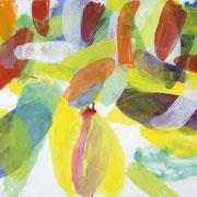 Jürgen Reichert: Windiger Tag, 2017, Acryl auf Leinwand, 140×170 cm