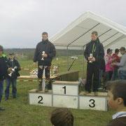 Thüringenmeisterschaft - Schwabhausen, Robert Braun auf Platz 2 der AK 6