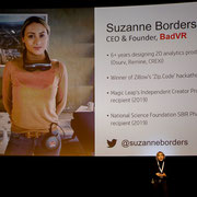 Suzanne Border, CEO, BadVR