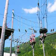 Hochseilgarten Sommerurlaub Flachau