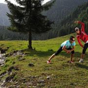 Laufen Sommerurlaub Flachau