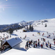 Winterlandschaft in Flachau