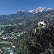 Festung Hohenwerfen - Bezienswaardigheden Flachau