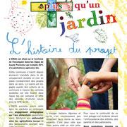 Animation d'ateliers avec les enfants et création de la Gazette du centre social La Louette à Forcalquier