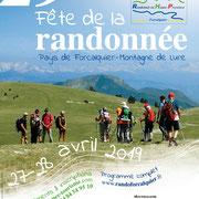 Création des documents de communication pour l'association Randonner en haute Provence