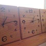 タモ 時計 W210  H210  t25