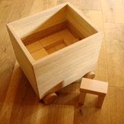ハードメープル 積み木Box