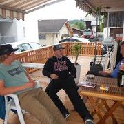 Enkel Nick und Tim mit Vater Erich