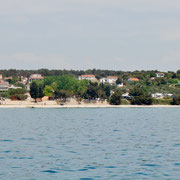 Blick zu unserem Camping Nordsee