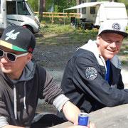 Grosskinder Tim und Nick
