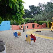 Kinderspielplatz bei der Sanitäranlage