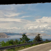 Panorama auf der Küstenstrasse