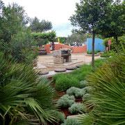 Grillplatz mit Krätergarten