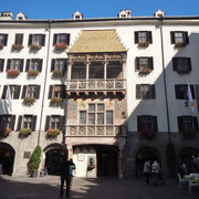Innsbruck das goldene Dachel