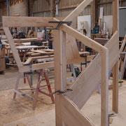 Structure de l'escalier