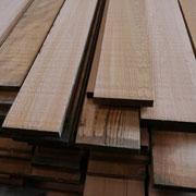 Planches de Red Cedar brut
