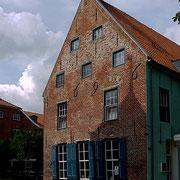 Handelshaus am Ende der Sielgasse von 1696