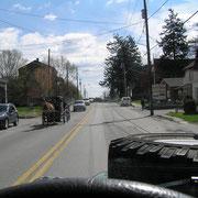 Kutschen Gegenverkehr