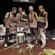 Red Bull BC ONE WINNER: YU-SENG - CONGRATS!!! Together with Ronnie (US), Lil G (VE) and Crazyeins Crazyone (SUI)