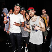 HOT - Rossy Putignano with tha B-Boys: Xisco (Netherlands), Hill (Mexico) & Ash (Washington, USA)