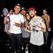 HOT - Rossy Putignano with tha B-Boys: Xisco (Netherlands), Hill (Mexico) & Ash (Washington, USA)