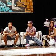 Javier Ninja (US), Dj Renegade (UK), Bruce Ykanji (FR), Storm (DE) and Rossy