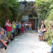 Visites du tunnel fromager en juillet / août