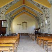 Intérieur du Temple Protestant