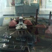 Maquette de la fosse VILLARS de Denain