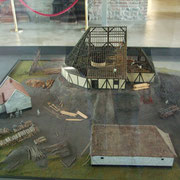 Maquette de la fosse de la Barrière d'Anzin