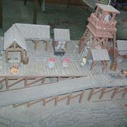 Maquette de la fosse du Voreux ( Germinal )
