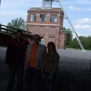 Le puits n°2 avec Oscar ancien mineur devenu guide.