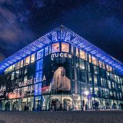 Banque image Provence - MUCEM nuit étoilée - Marseille