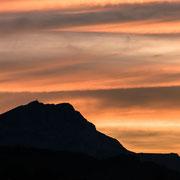Banque image Provence - Sainte victoire - Lever du soleil - Aix en provence