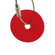 ampelhänger rund rot