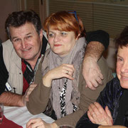v.l. K.Kastner (A), Frau Wallner (A), Ingrid Schuster (A), F:Stanke