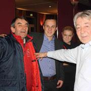 Widersehen macht Freude! v.l. M.Momcilovic(SRB), P.Gajda(CZ), Jana(CZ), B:Bocko(SK)   F:Stanke
