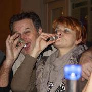 v.l. K.Kastner (A) mit Frau Wallner (A), F:Stanke