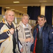 v.l. I. Nyul(SK), B.Bocko(SK), M.Momcilovic(SRB)  F:Ing.Kolenic(SK)