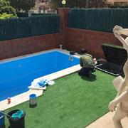 Mantenimiento de vasos de piscina - Jardines Multiservicios Alemany