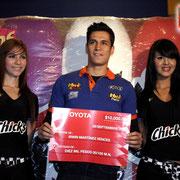 CHICS DE BARCEL EN NASCAR  2012