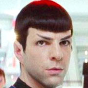Zachary Quinto(Spock)