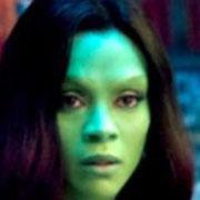 Zoë Saldaña(Gamora)